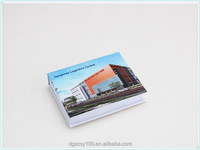 Cheap small size pocket custom printed sticky notepad