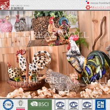 Wholesale hand painted decorative ceramic chicken