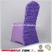 durable rosette wedding cheap folding chair cover