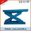 3Tons small platform scissor lift for cargo