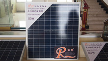 Factory Direct Sale 50W Poly Solar Panel In China