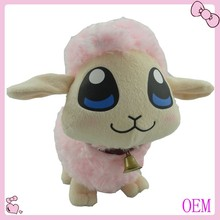 Stuffed plush sheep toy