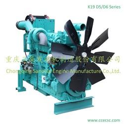 China Manufacturer CCEC KTA19 Diesel Generator Engine