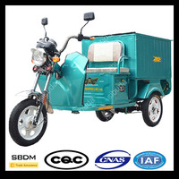 SBDM Motorcycle Enclosed Electric Tricycle Scooter