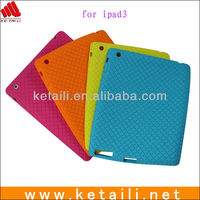 2013 Wholasale Protector silicone case for ipad 2/3/4
