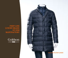 Men Fashion Goose Down Suit Popular in Europe Manufacture in China
