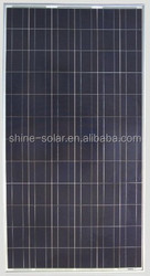 300w poly solar panel with 72pcs 156*156 poly cells