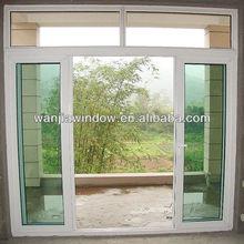 wanjia wholesale make up upvc doors windows