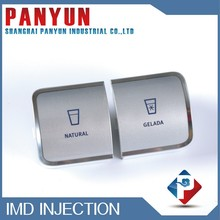 Embossed IMD/IML Decorative Mould cover case