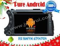 Android 4.2 car audio dvd gps system with Capacitive touch screen for SSANG YONG KORANDO/ACTION /KYRON, 3G ,WIFI ,support OBD