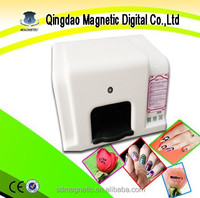 Automatic digital nail art printer/photo nail printer machine