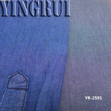rayon cotton denim fabric in stock for shirting