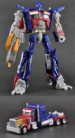 Action Figures Deluxe Optimus Prime Transformable Robot