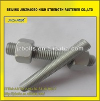 Different types bolt and nut dacromet