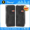 Latest huge 2.0 active subwoofer speaker box with dj mixer