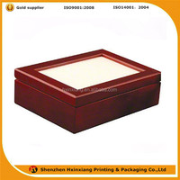 Customize high end gloss cheap price lightweight wood box