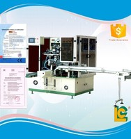 Multifunctional Full Automatic plastic bottle rotary Screen Printing machine LC-HR108