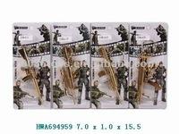 2012 hot sale 11cm paint die cast gun toys