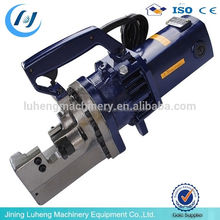 Barra redonda máquina de corte de acero, portátil de corte de la máquina