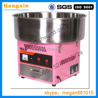 Electric color fruity cotton candy machine/popular cotton candy floss machine/used mini cotton candy making machine cheap sale