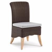 2015Antique Furniture Vines Outdoor Rattan Sofa Armless Chair