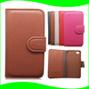 PU Leather Smart Phone Case for iPhone 4 4S, for iPhone 4 4S Case Leather