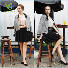 Latest design hot sale models wool coats for women