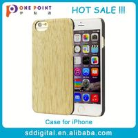 new style back cover case for iphone 6 slim wooden case