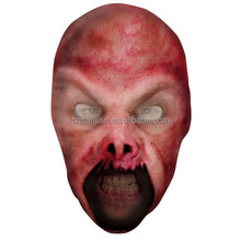 OEM face tattoo mask Halloween /Party /Carnival favor horrible mask Nylon mask