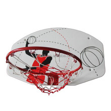 Plastic Basketball Backboard For Kids With Hoop