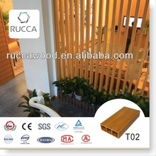 WPC/Wood Plastic Composite Wooden Timber Lumber for Home Decoration in Foshan Rucca100*35(3mm)