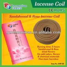 fashion import rose incense coil