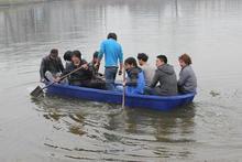 4 meters Plastic Rowing Boat Dinghy Canoe