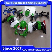 FFKKA001 Motorcycle ABS Fairings Kit For Ninja 250R Ninja 250 Fairing 2008-2012 Green And White And Black 2