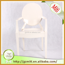 Replica Louis Stackable Ghost Chair with arm for wedding or party