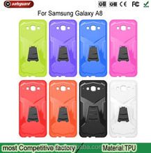 Transformers Armor TPU Case With folding Kickstand for Samsung A8 case