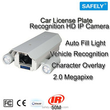 """New Product 1/2.8"""" Sony CMOS Car Plate HD 1080P Real Time Video Recognition HD IP Camera 2.0 Mega Pixel Waterproof Ip66"""