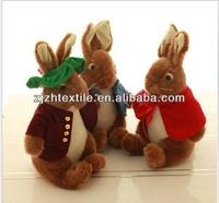 big belly standing plush bunny rabbit stuffed toys