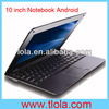 10.1 inch Notebook Computer with Via8880 Android 4.2 Bluetooth WIFI Camera