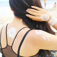 Temporary Body Metallic Waterproof Mandala Temporary Tattoo