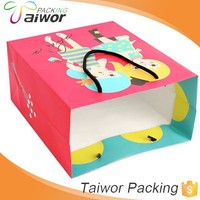 Fancy Custom Decorative Paper Box Wholesale Paper Shopping Bag Of Cosmetic