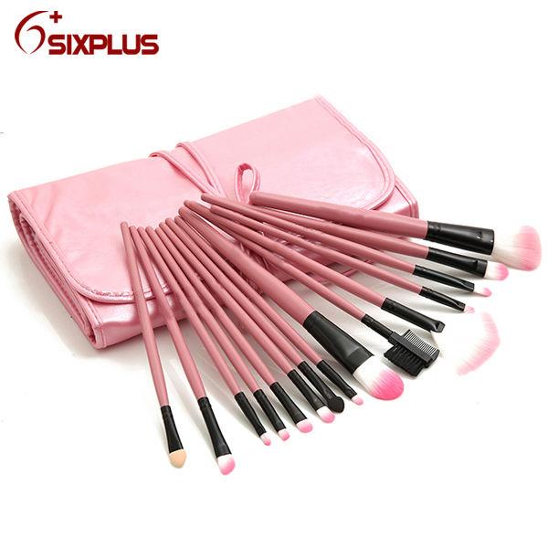 32 Pcs Pink Makeup Fan Brush