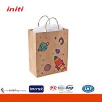 New Eco-friendly Fashion Ziplock Stand Up Kraft Paper Bag