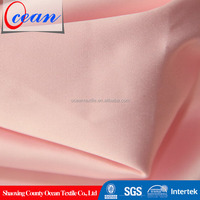 Wholesale Polyester Stretch Full Dull Satin Fabric