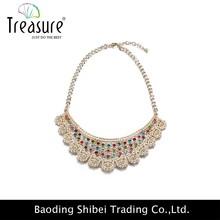 caldo vendita moda collare collana di corallo nero