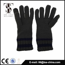 High Quality Knit Acrylic fiber solf Touch men Gloves