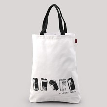 2015 new cotton tote bag & cotton shopping bag