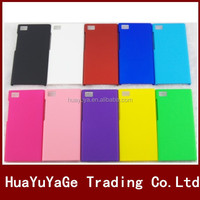 New Arrival phone cases plastic cover hard matte Case For XiaoMi Mi3 M3