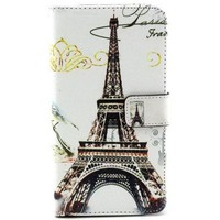Colored Pattern Wallet TPU and PU Leather Case Cover for Samsung Note 3 Lite