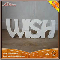 Christmas Decoration Wooden 3D Alphabet letters for Home Decoration Wooden Crafts